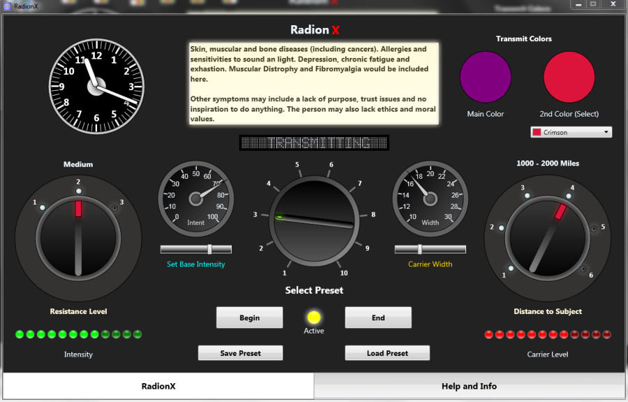 RadionX Software